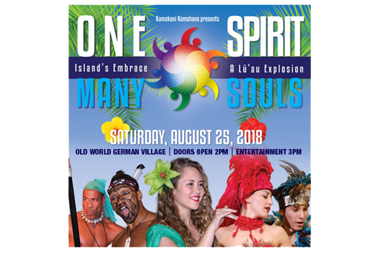 One Spirit Many Souls Festival (Hawaiian Luau & Show)